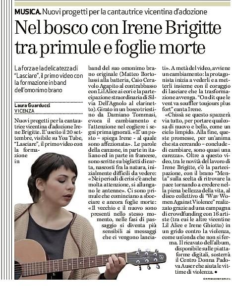 Il Giornale di Vicenza 28.09.18
